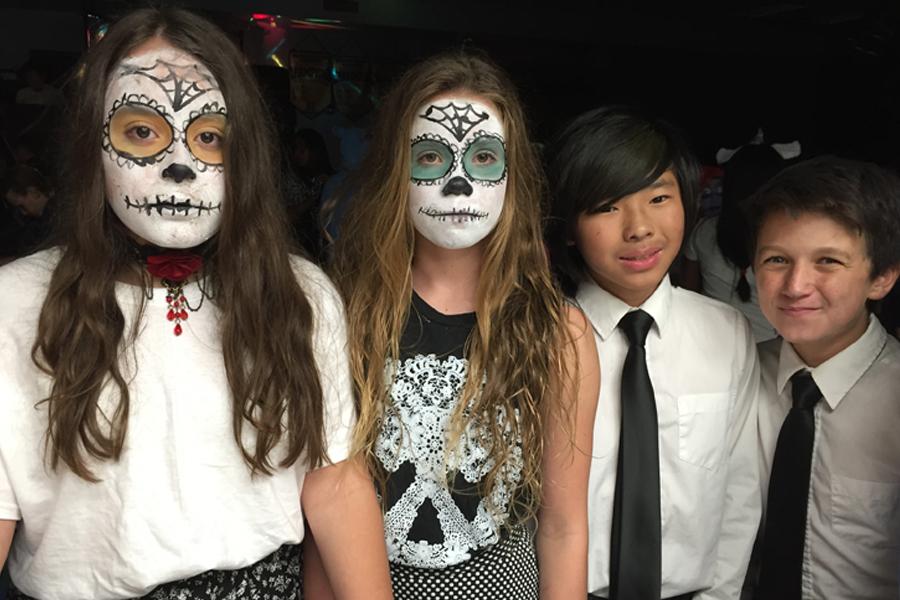 happy halloween from ipa  middle school dance