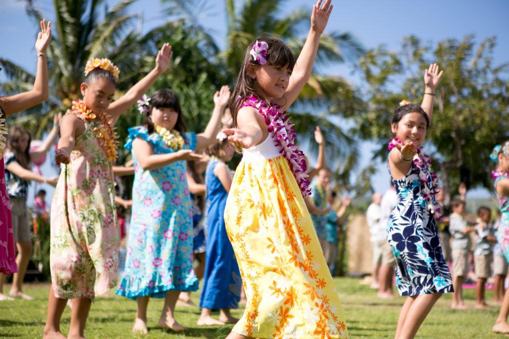 May Day hula