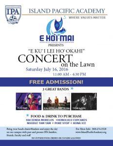 Alumni Concert Flyer