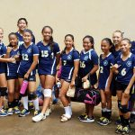 IPA Lady Navigators Intermediate Volleyball team.