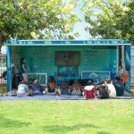 The mobile Education Station from Sustainable Coastlines Hawaiʻi will be set up on the Big Field for two weeks.