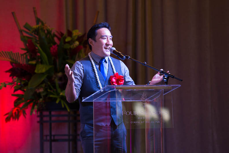 Nolan Hong, Master of Ceremonies