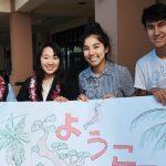 Japan exchange students with IPA students