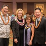Grand Expedition honoree Susan Murray with Lance Wilhelm, Be-Jay Kodama, and Gerald Teramae.
