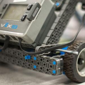 Close up of VEX IQ robot