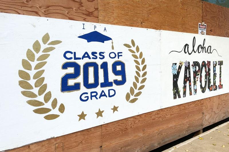 Class of 2019 mural