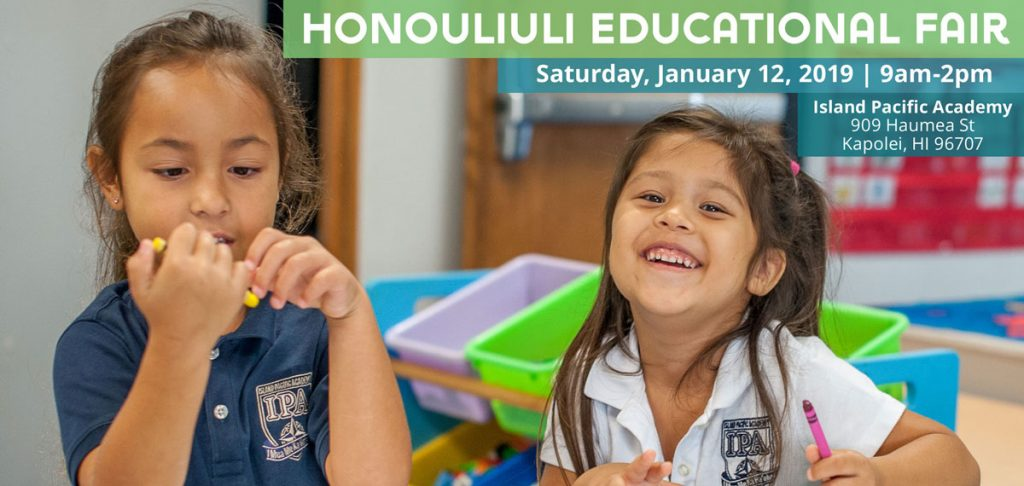 Flyer for Honouliuli Educational Fair
