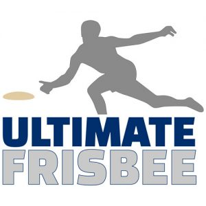 Silhouette of ulitmate frisbee player