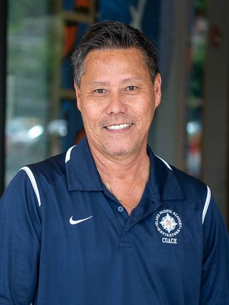 JV Volleyball coach Casey Takashima