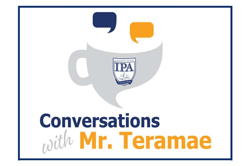 Conversations with Mr. Teramae graphic