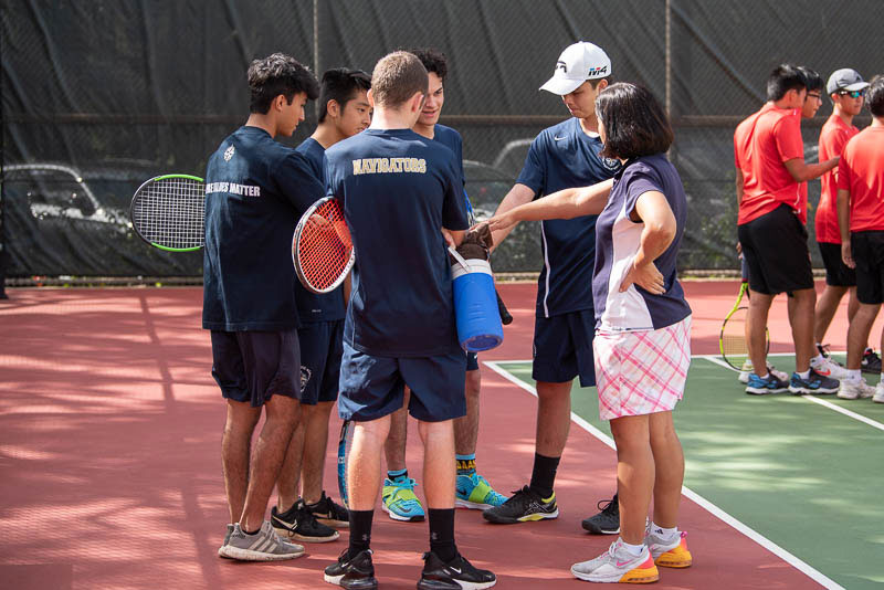 Boys' tennis team