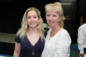 Eileen Novak and daughter, Rachel '17.