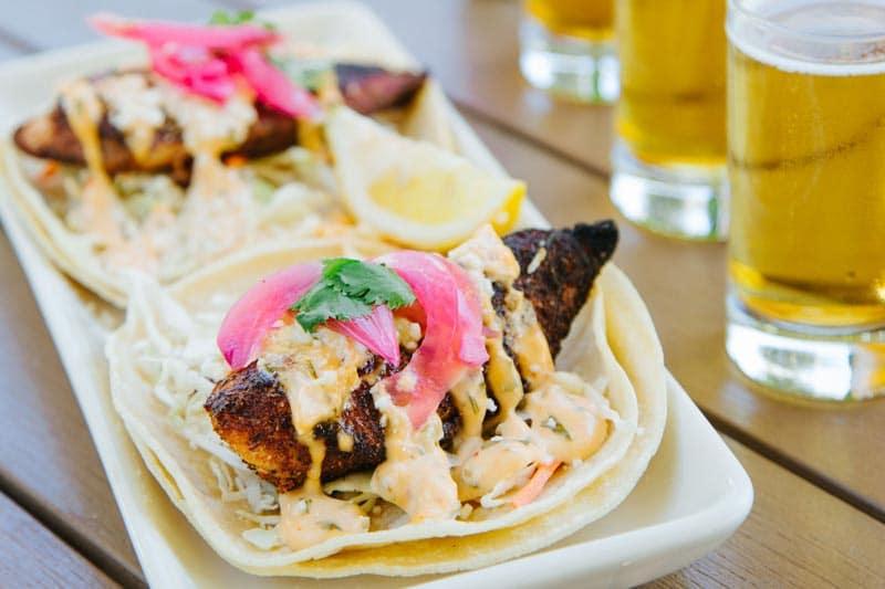 Kalapawai Market fish tacos