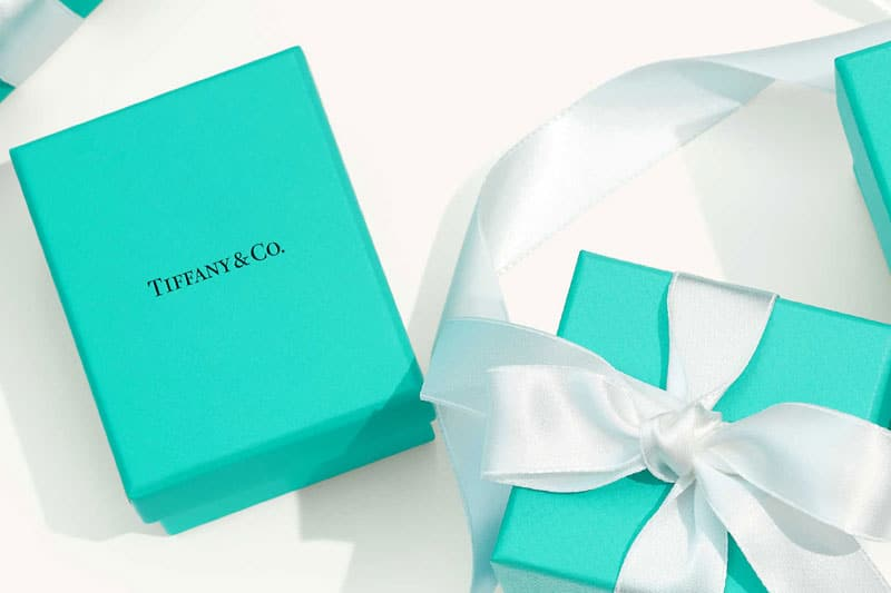 Tiffany and Co gift boxes