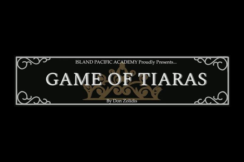 Game of Tiaras sign