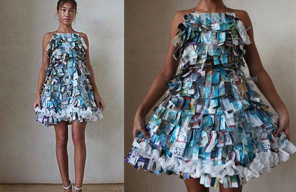 Broken Haute Couture by Sophia Holmen