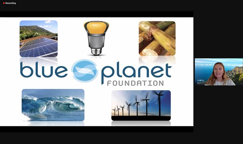 Hannah Shipman from Blue Planet Foundation