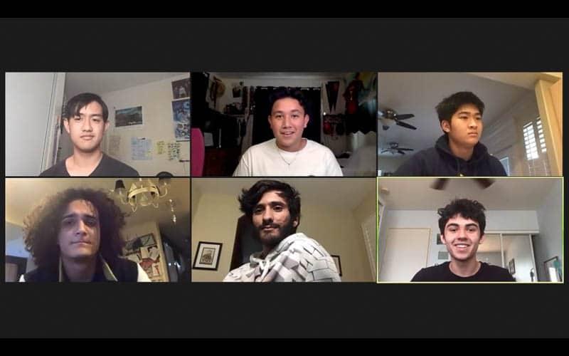 Zoom screenshot of meeting