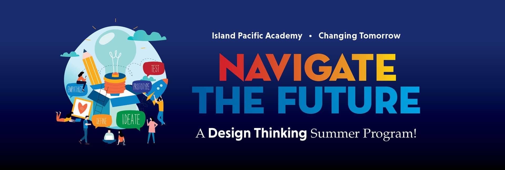 Graphic header for summer program